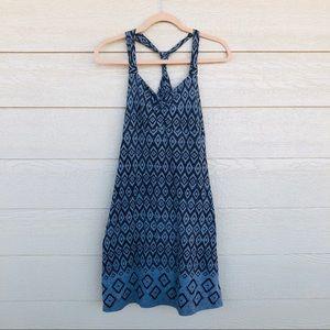 Dakini Activewear Dress Blue/Black (M)